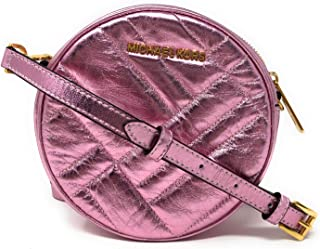 Vivianne Canteen Quilted Leather Crossbody Bag