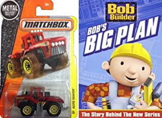 Bob the Builder: Bob's Big Plan with matchbox construction tractor DVD cartoon toy set bob paints read along bonus