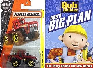 Bob the Builder: Bob's Big Plan with matchbox construction tractor DVD cartoon toy set bob paints read along bonus