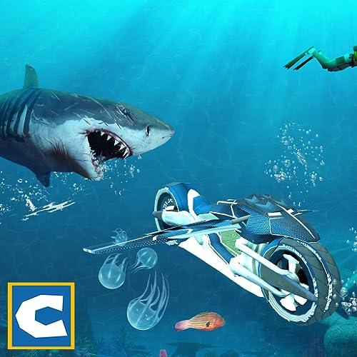X Flying Bike: Angry Shark
