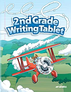 2nd Grade Writing Tablet - Abeka 2nd Grade 2 Penmanship Student Lined Writing Paper