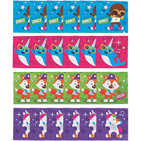 Back to School Gifts 24 Count Party Favors Fun Express Dancing Animals Classroom Pencils School Supplies