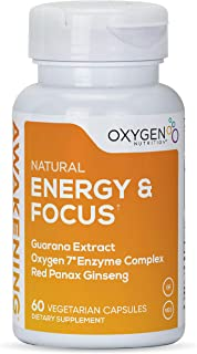 Awakening Natural Energy & Focus Nootropic Supplement with Panax Ginseng, Guarana Extract & Chromium Picolinate | Brain Su...