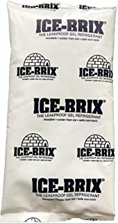 Ice-Brix Cold Pack, 3 oz Capacity, 5