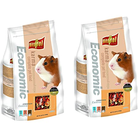 Vitapol Food for Guinea Pigs (1200g) - Pack of 2