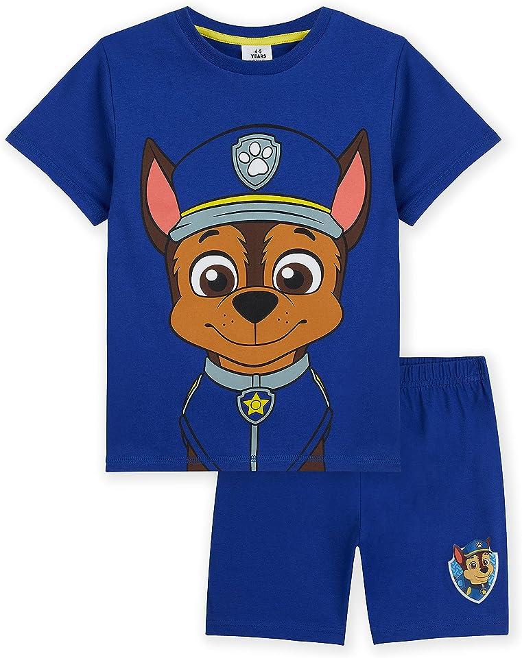Pyjamas, Chase & Marshall Boys Short PJs, Clothes For Boys Age 2-6