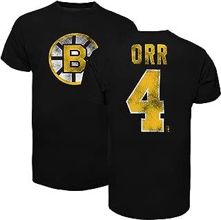 '47 Boston Bruins Bobby Orr Vintage NHL Alumni T-Shirt (Black)