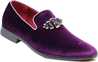 Male Shoes Pointed Purple Casual Shoes