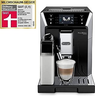 "De'Longhi 德龙PrimaDonna Class ECAM 556.55.SB全自动咖啡机,3.5""TFT材质彩色触摸屏 集成卡布基诺系统,APP控制,19 bar泵压,2杯性能,黑色"