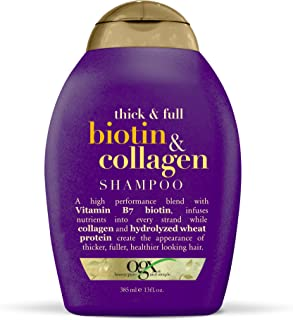 Organix Thick and Full Biotin and Collagen Shampoo, 385ml