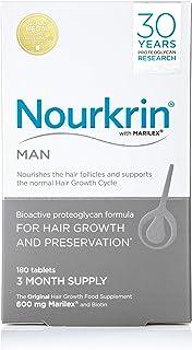 Nourkrin, Nourkrin Man 3 Month Supply, 180 tablets