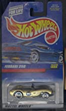 Hot Wheels 1998 Ferrari 250 Gold Car Collector Number 866