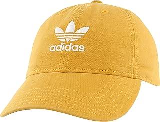 yellow adidas cap