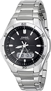 Casio Men's WVA-M640D-1ACR Wave Ceptor Analog-Digital...