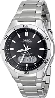 Casio Men's WVA-M640D-1ACR Wave Ceptor Analog-Digital...