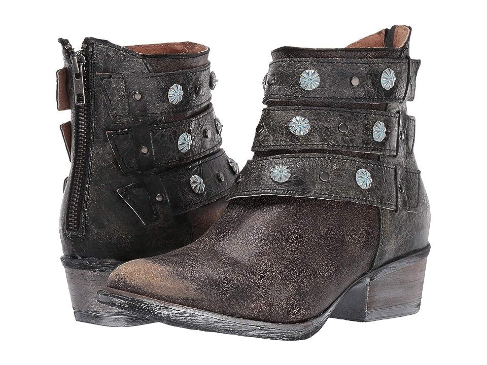 Corral Boots Q5082 (Black) Cowboy Boots