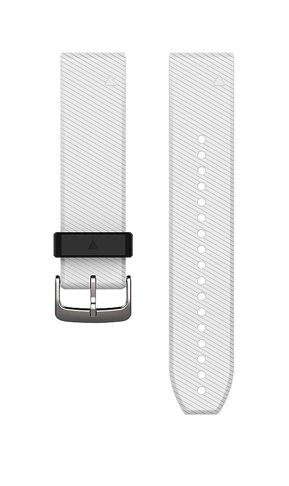 キャンプ震えるフィラデルフィアGARMIN(ガーミン) Approach QuickFitバンド S60用 White 010-12500-14 White 対応商品: Approach S60, fenix5 Part Number:010-12500-14