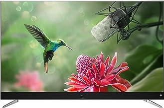 TCL U55C7006 - Televisor de 55 Pulgadas, Smart TV con 4K UHD, HDR Premium, Wide Color Gamut, Android TV y JBL by HaRMAN, Aluminio Cepillado [Clase de eficiencia Energética A+], Gris