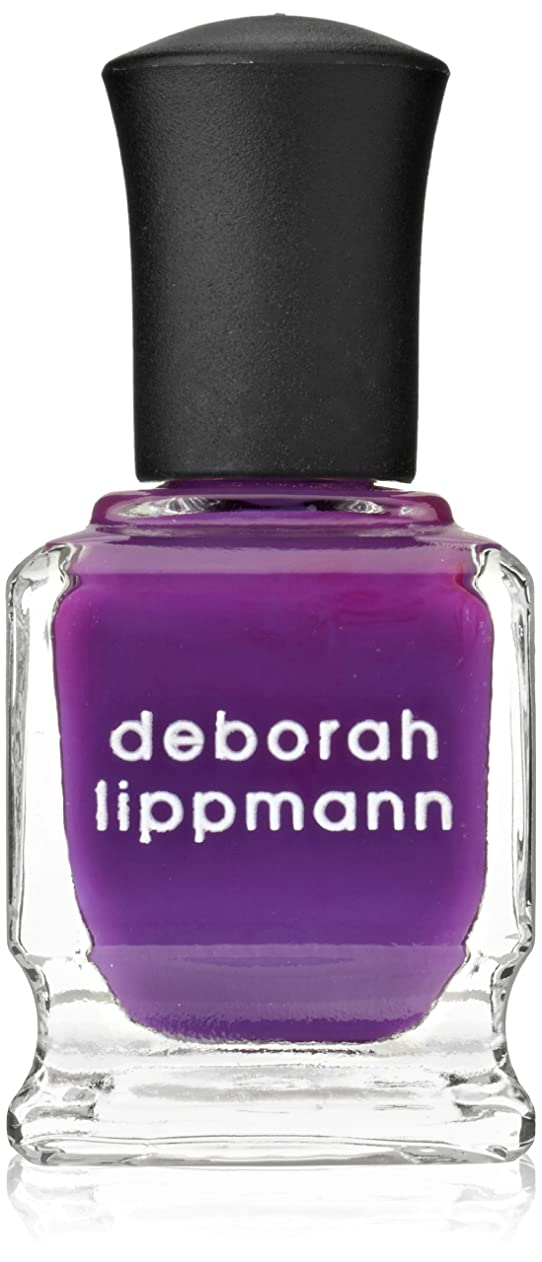 廃止マオリ殺す[Deborah Lippmann] [ デボラリップマン] コール ミーイレスポンジブル CALL ME IRRESPONSIBLE 鮮やかなパープル。 発色がよく個性が引き出せるマニキュアです ガーリーでオシャレなカラー 容量15mL