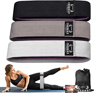 Resistance Bands for Legs and Butt,Exercise Bands Set Booty Bands Hip Bands Wide Workout Bands Resistance Loop Bands Anti ...