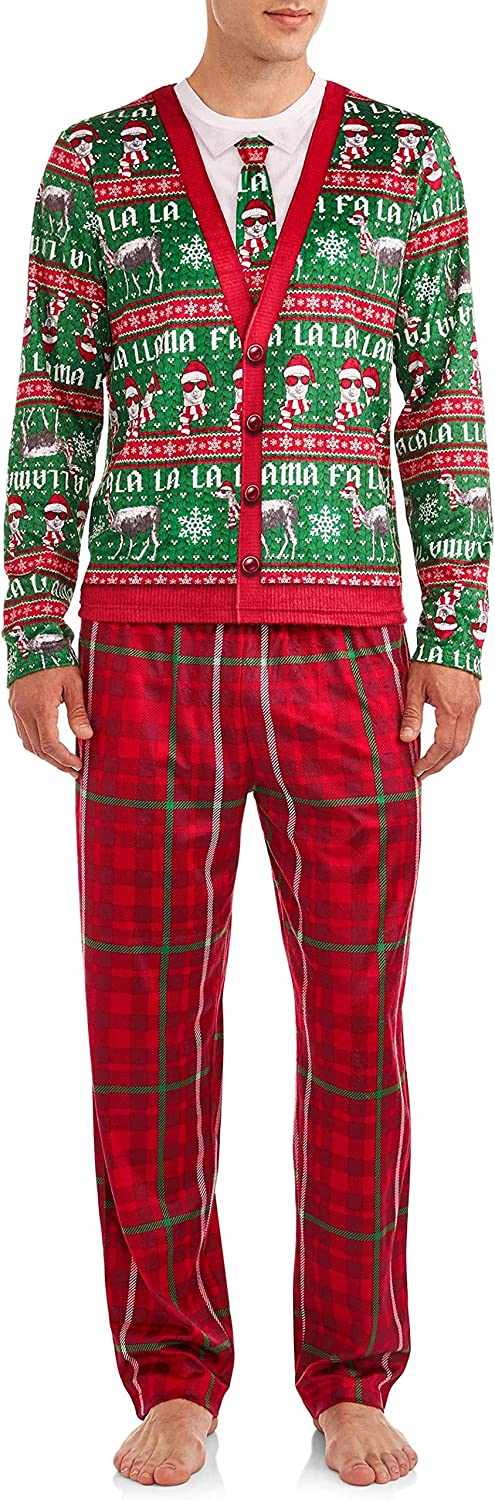 All stores are sold Briefly Stated FA 2021 new La Llama Piece Men's Pajamas 2 Set