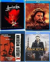 Epic Crossings Apocalypse Now Redux 3 Disc Edition Francis Ford Coppola Epic Marlon Brando + Last Samurai Blu Ray Tom Cruise 4 Pack War Saga & Movie Set American History X & Taken 2 Action Thriller
