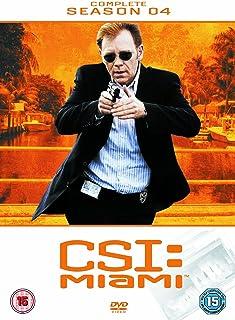 CSI: Miami - Complete Season 4 [DVD] [Reino Unido]