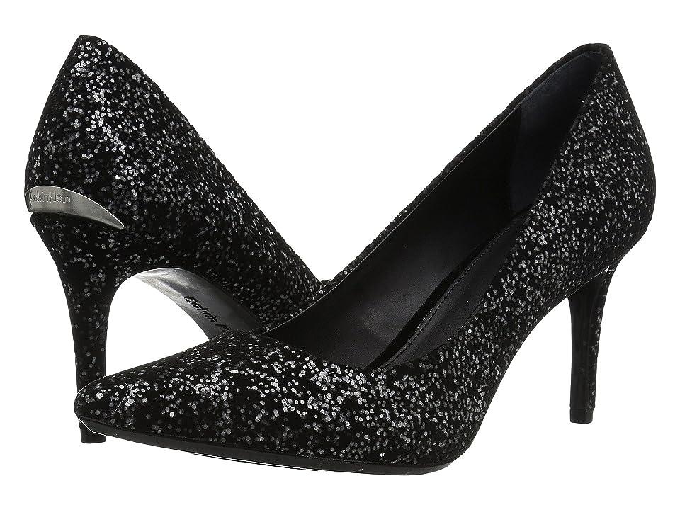 Calvin Klein Gayle (Black Cosmic Glitter) High Heels