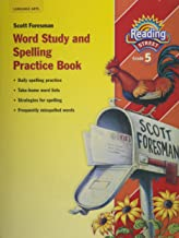 Best scott foresman reading grade 5 spelling workbook Reviews