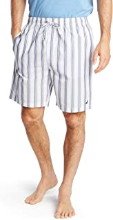 Nautica Men's Soft Woven 100% Cotton Elastic Waistband Sleep Pajama Short