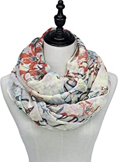 Soft Infinity Scarfs for Women Cozy Loop Scarves by J'Mysticon