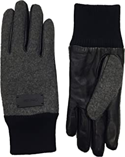 Women`s Leather Contrast Gloves