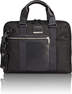 TUMI - Alpha Bravo Charleston Compact Laptop Brief Briefcase - 14 Inch Computer Bag for Men and Women - Black