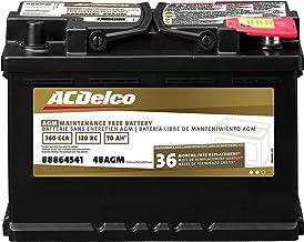 باتری ACDelco 48AGM Professional AGM Automobile BCI Group 48