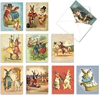 Best 10 Stationery Note Cards with Envelopes 4 x 5.12 inch, Assorted