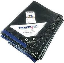 8x10 Super Duty Blue/Green Tarp, MOX Film Technology, Premium tarp, Anti-Tear, Waterproof, UV Resistant, 22 Variation