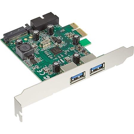 玄人志向 STANDARDシリーズ PCI-Express接続 USB3.0外部2ポート増設カード LowProfile対応 USB3.0RA-P2H2-PCIE