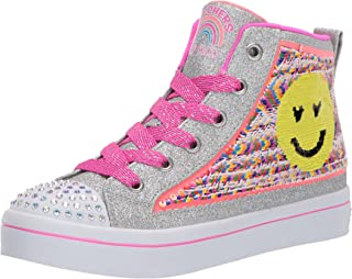 Skechers Kids' TWI-Lites 2.0-Sequin Society Sneaker