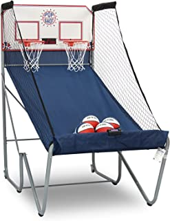 Pop-A-Shot Official Home Dual Shot Basketball Arcade Game – 10 Individual Games – Durable Construction – Near 100% Scoring Accuracy – Multiple Height Settings – Large LED Scoring System