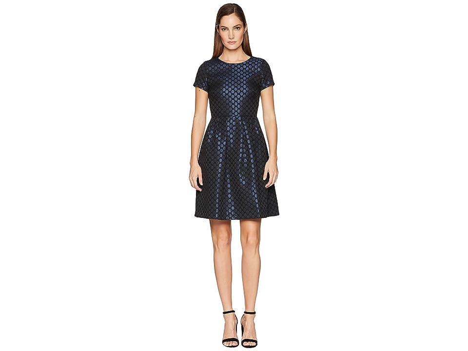 Paul Smith Polka Dot Dress (Black/Navy) Women