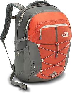 The North Face Womens Borealis Backpack - Nasturtium Orange & Sedona Sage Grey - OS (