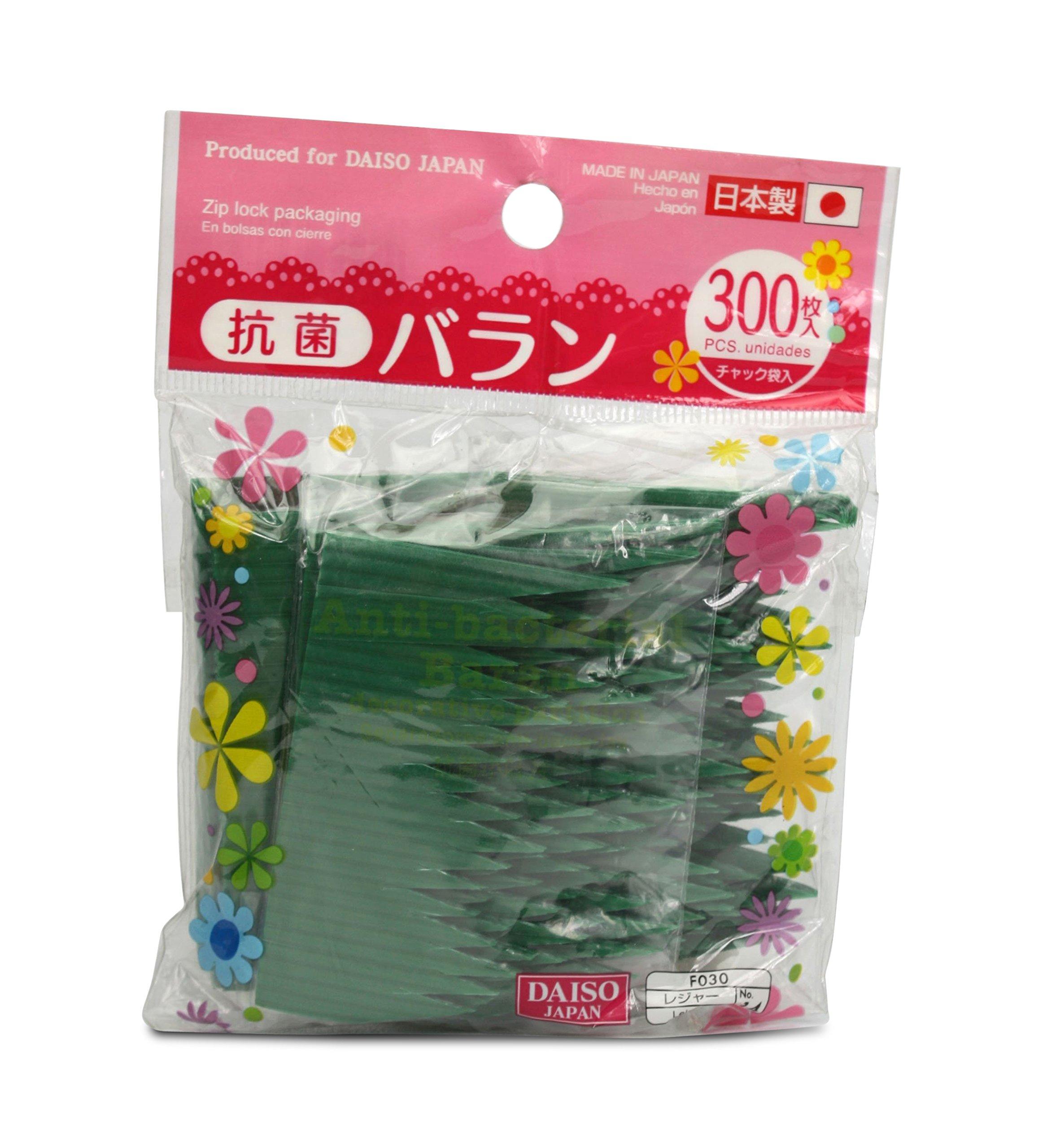 Japanese Sushi Bento Baran comida unidades – 300 verde separadores): Amazon.es: Hogar