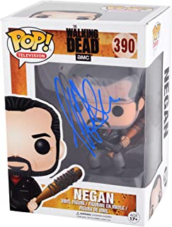 Jeffrey Dean Morgan Autographed Negan The Walking Dead Funko Pop - BAS COA - Beckett Authentication