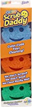 Scrub Daddy Colors - FlexTexture Sponge, Soft in Warm Water, Firm in Cold, Deep Cleaning, Dishwasher Safe, Multi-use, Scra...