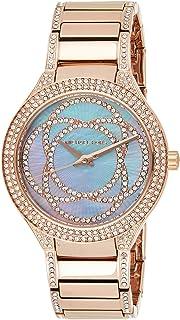 Michael Kors Women's Kerry Rose Gold-Tone Watch Mk3482, Analog Display