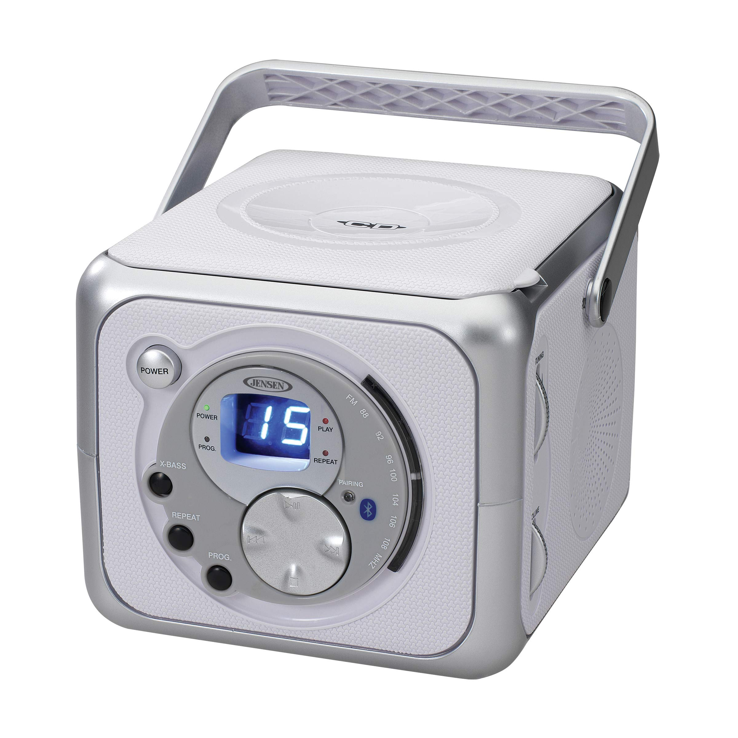 Jensen Bluetooth Boombox Portable Headphone