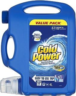 Cold Power Regular Complete Action, Liquid Laundry Detergent, Value Pack, 80 washloads