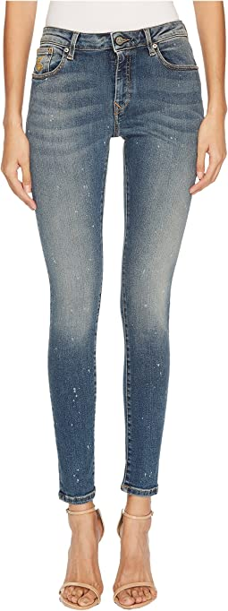 Vivienne Westwood - Super Skinny Trousers in Blue Denim