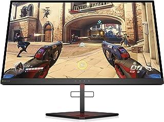 HP OMEN X 25 -  Monitor gaming de 25 pulgadas con G-sync + altura ajustable (TN, 240 Hz, 1 ms, FHD 1920 x 1080, 400 nits) negro