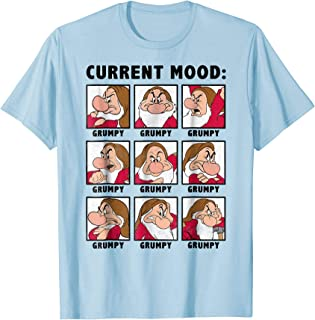 Disney Snow White Current Mood Always Grumpy Graphic T-Shirt